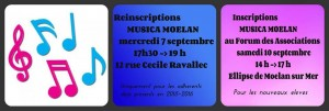 INSCRIPTIONS ET REINSCRIPTIONS MUSICA